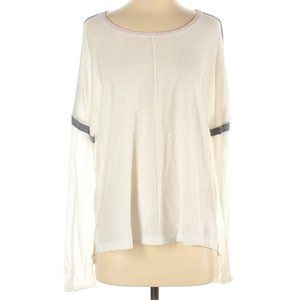Revolve Feel the Piece by Terre Jacobs Cashmere blend Scoop Neck Ivory Sweater